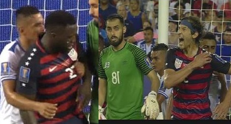 Videos: El Salvador Players Get Suspended For Biting US Footballers On The Pitch
