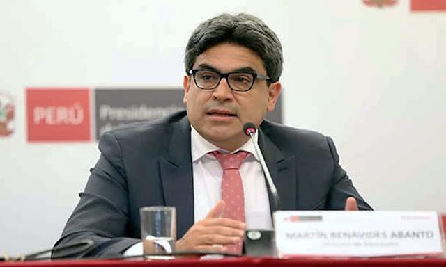 Ministro de Educación, Martín Benavides Abanto