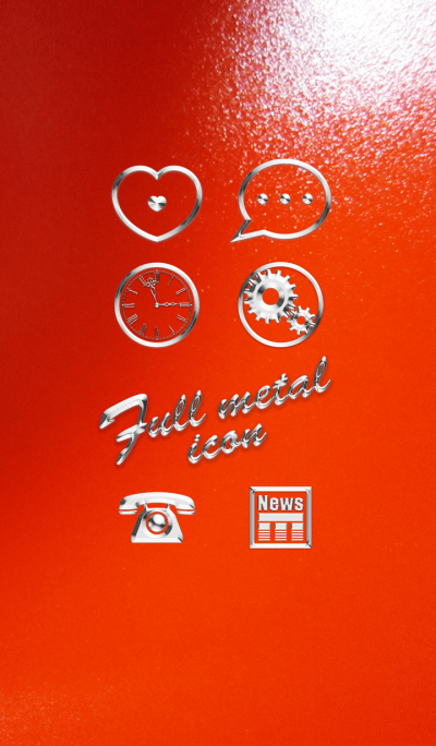 Full metal icon
