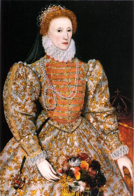 queen elizabeth I Darnley Portrait 1575