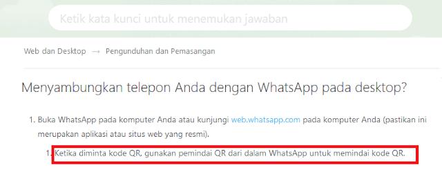 Bisakah WhatsApp Web Tanpa Scan Barcode