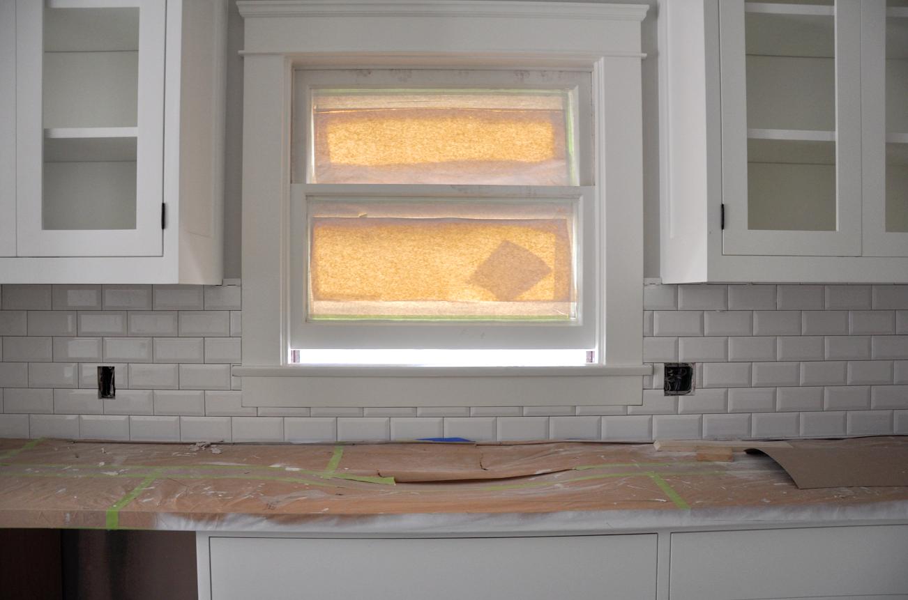 Craftsman Kitchen Backsplash Drain Pipe Renovation Week 29 Update Sticky Bee