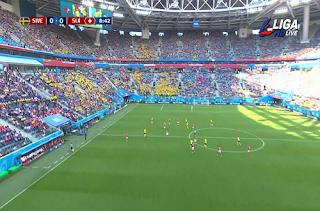 Russia FIFA World Cup Channel Liga HD 3 July 2018