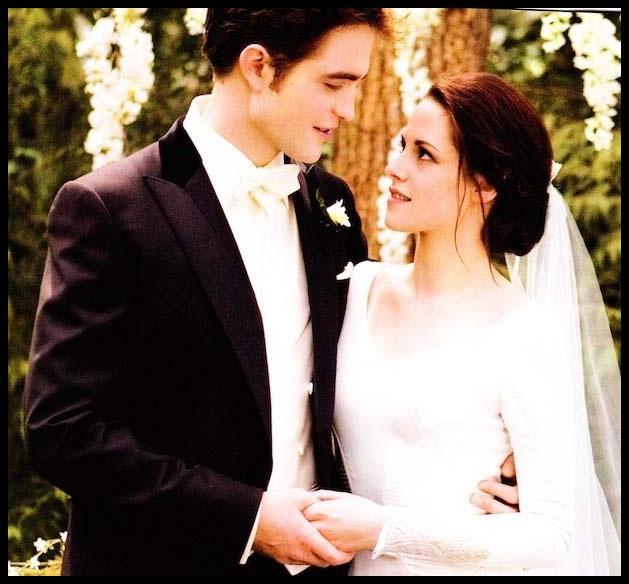 Elegant Wedding Dress From Edward Cullen and Bella Swan ...