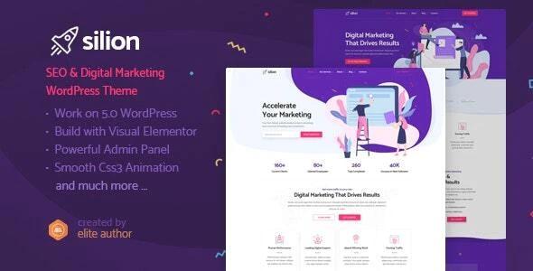 Silion WordPress Theme
