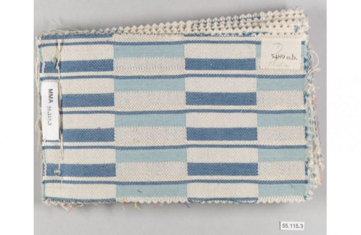 Exemplo de tecido criado por Otti Berger