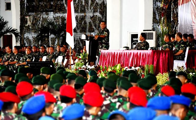 Panglima TNI : Hadapi Pilkada Serentak 2018, Prajurit Harus Netral