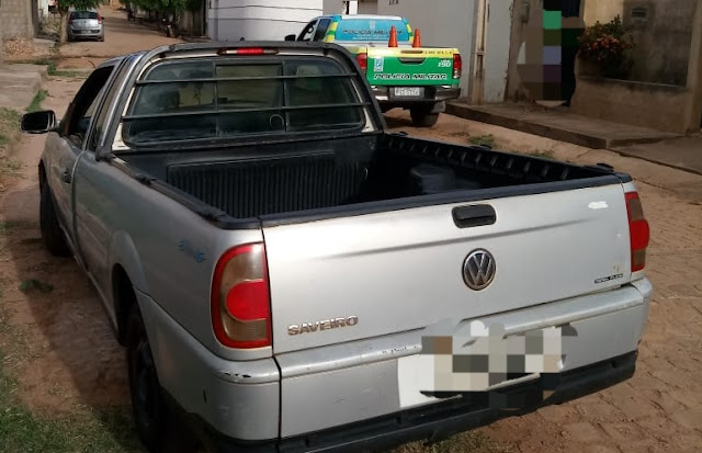 Em Oeiras do Piauí  veículo proveniente de roubo é apreendido pela Policia