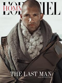 THE LAST MAN: DAVE LILJA FOR L'OFFICIEL HOMMES BALTICS