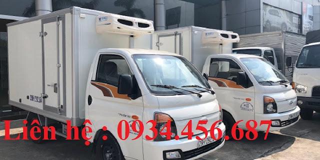 Xe thùng đông lạnh Hyundai H150