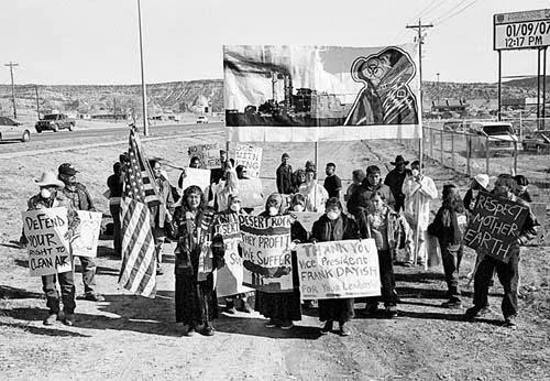 censored news dine care risks of navajo mine press conference oct