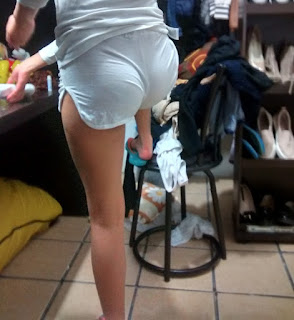 fotos hot chica shorts apretados