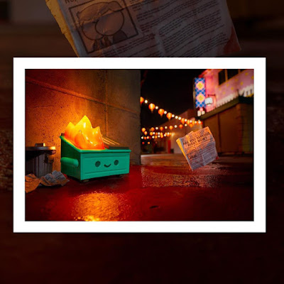Dumpster Fire Photo Print by 100% Soft x Brian McCarty