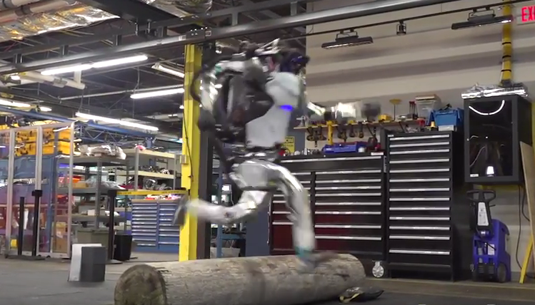 Robot Atlas obstacle performance - famous brands and products
