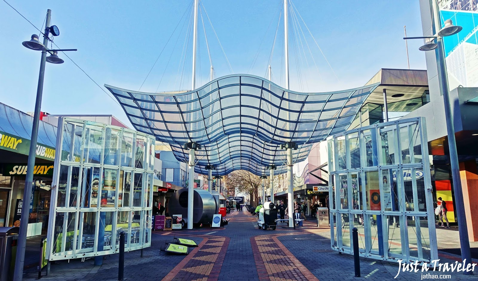塔斯馬尼亞-景點-推薦-伊莉莎白街-自由行-旅遊-澳洲-Tasmania-Tourist-Attraction-Elizabeth-Street-mall-Wellington-Court-Travel-Hobart