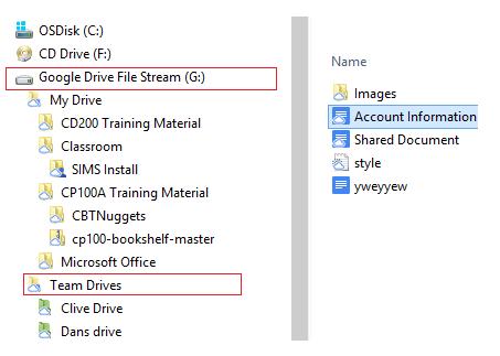 install google drive file stream windows