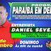 Vereador Daniel Severo de Caldas Brandão será o entrevistado do PARAÍBA EM DEBATE de domingo (03) na Rádio Rural de Guarabira