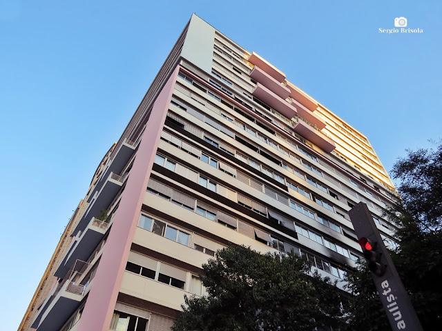 Vista ampla do Edifício Três Marias - Cerqueira César - São Paulo