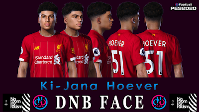 PES 2020 Faces Ki-Jana Hoever by DNB