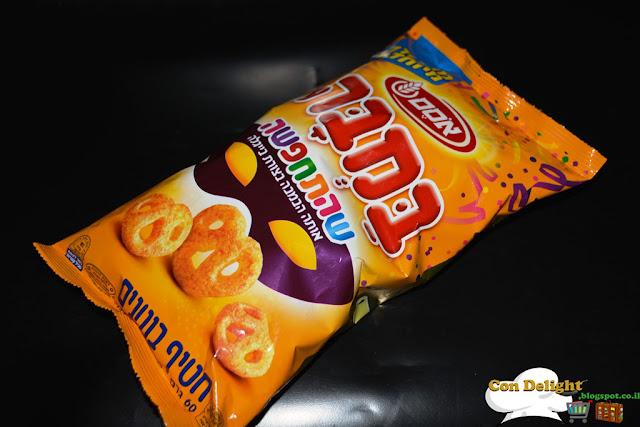 Purim bamba snack חטיף בוטנים לפורים