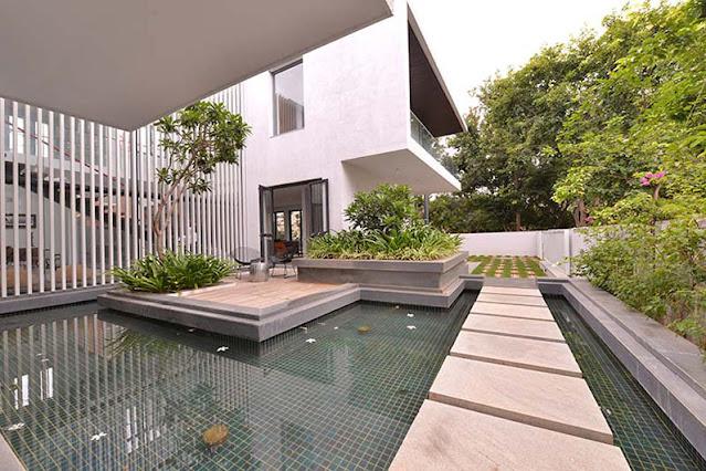 Thiết kế ngoại thất biệt thự vườn