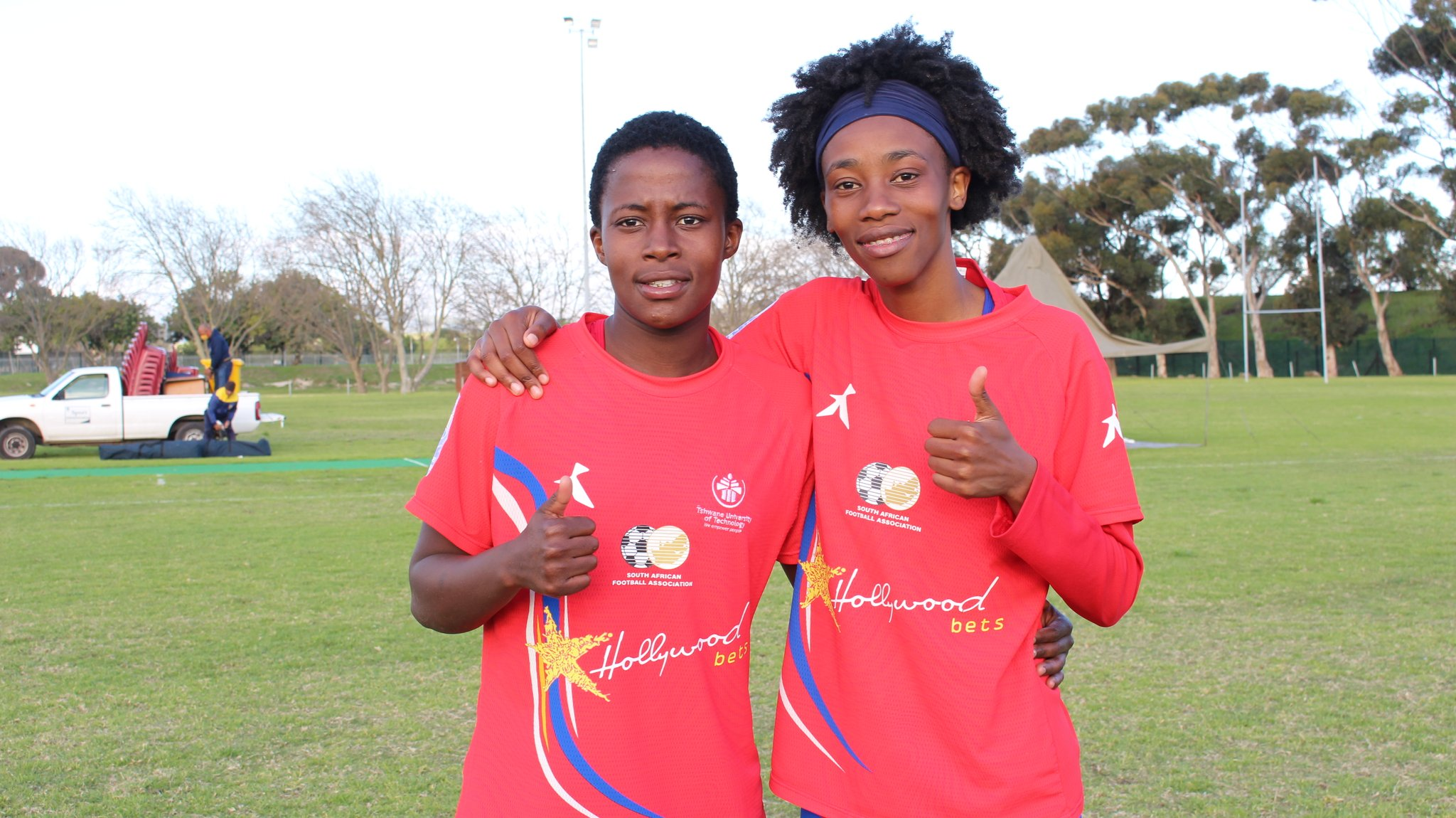 Tiisetso Makhubela and Koketso Tlailane