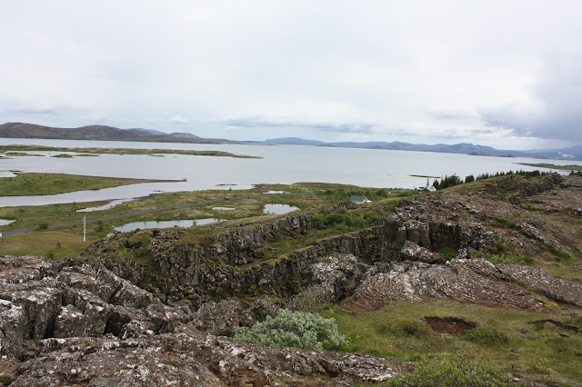 Gorgeous Lake Thingvallavatn is Iceland's largest natural lake.