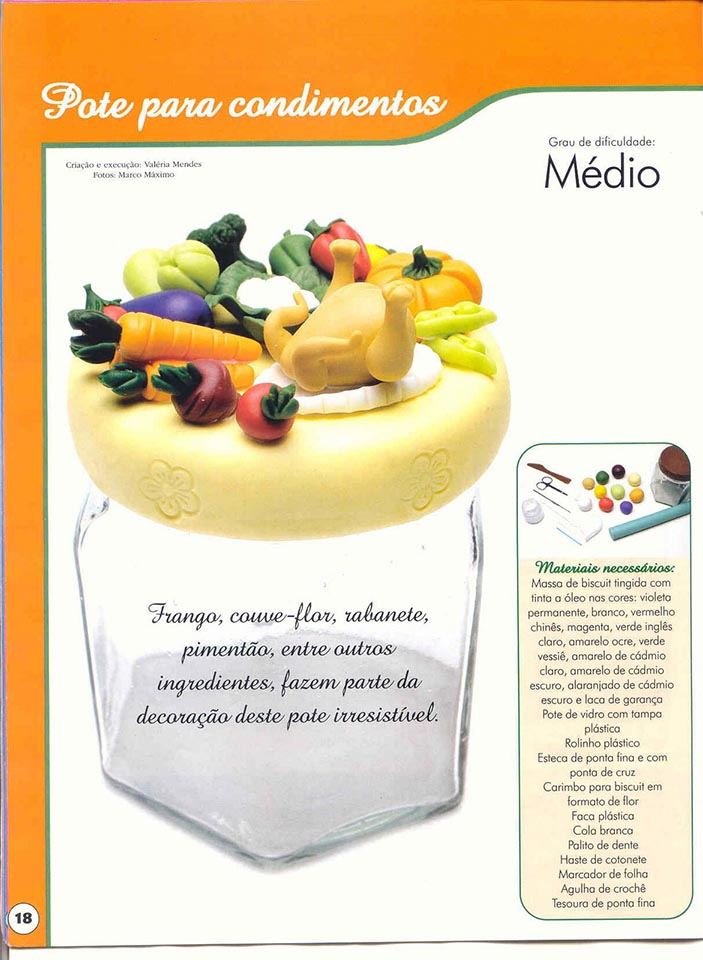 Miniaturas de alimentos