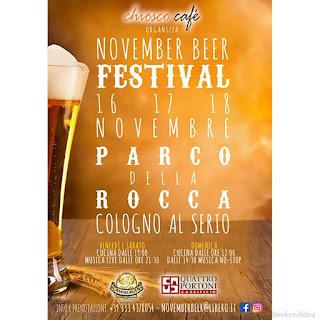 November Beer Festival