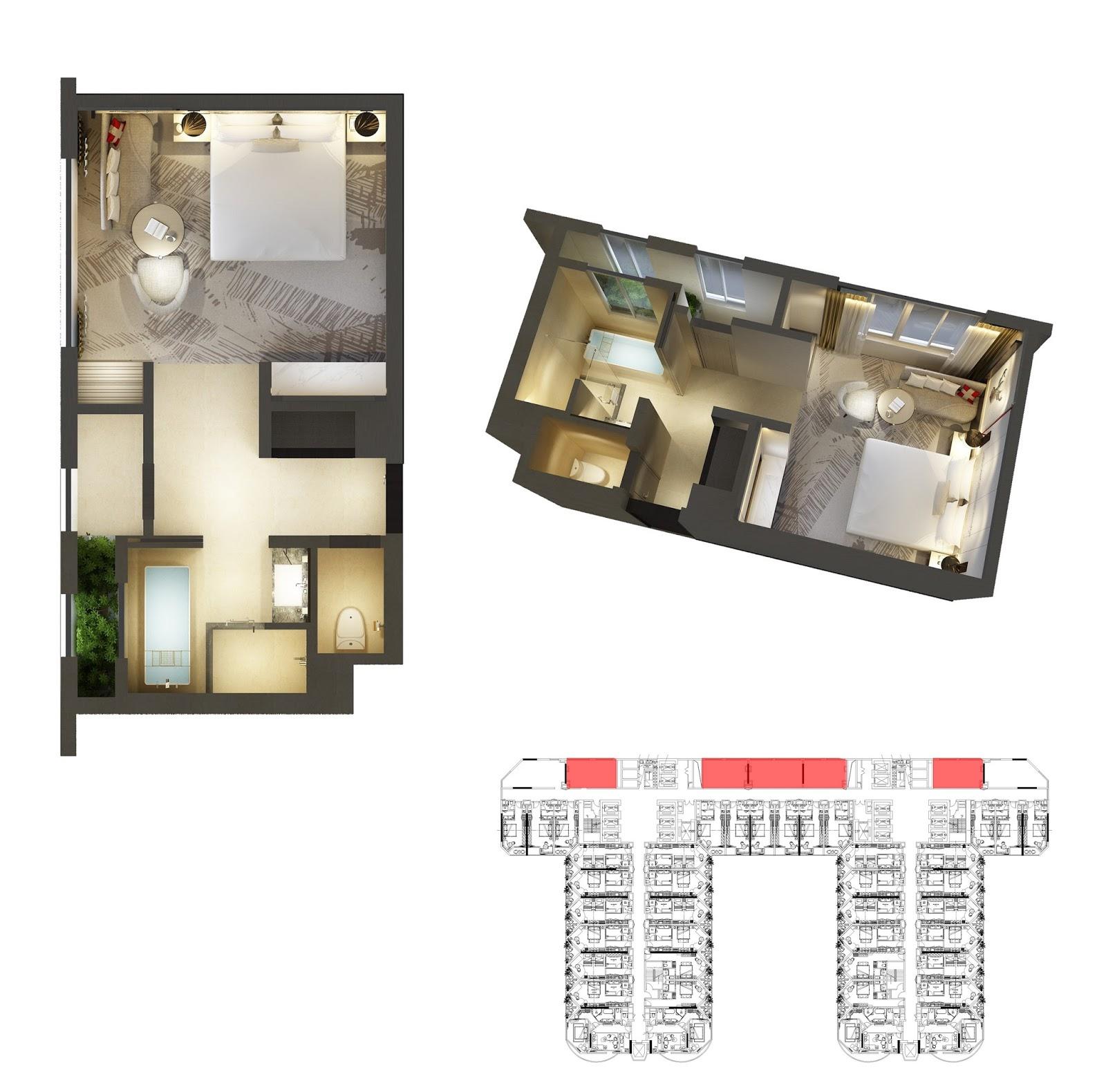 Thiết kế căn hộ số 9 La Luna Resort Nha Trang