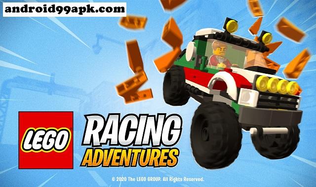 لعبة LEGO Racing Adventures v0.1.7 مهكرة بحجم 151 ميجابايت للأندرويد