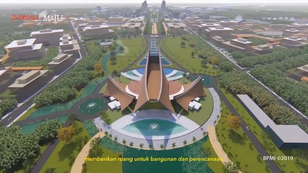 Tengok Penampakan Istana Presiden di Ibu Kota Baru