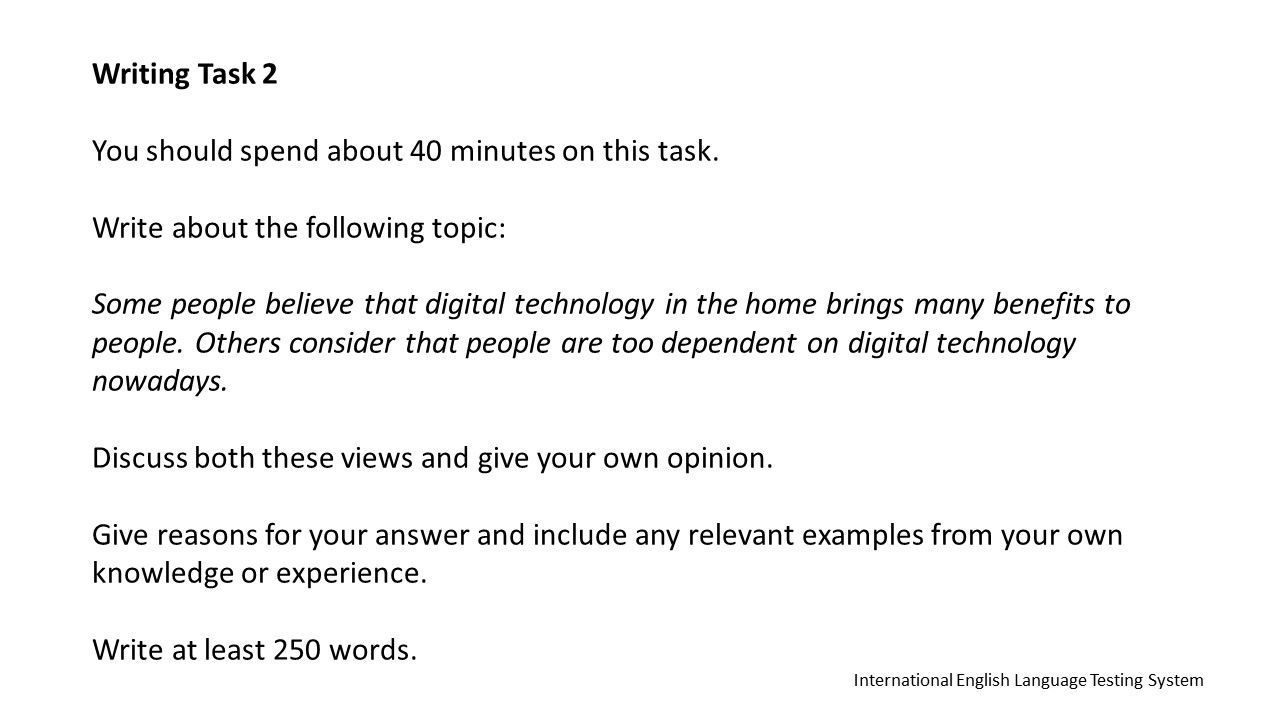 technology at home essay