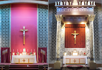 Before and After: Sacred Heart FSSP Parish in Fort Wayne, Indiana
