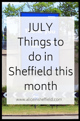 July things to do in Sheffield