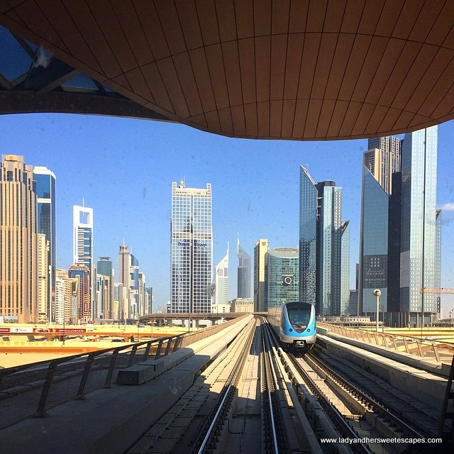 The Dubai Metro