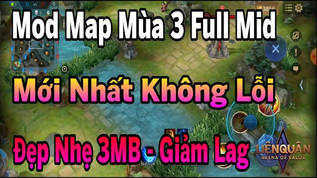 Hướng Dẫn Giảm Lag Liên Quân Bằng File Map Fix Lag Mùa 3 Siêu Mượt Siêu Nhẹ Full Mid | HQT CHANNEL