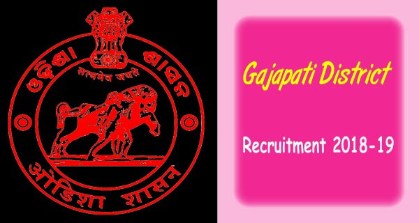 Gajapati District Govt Jobs