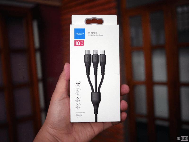 Hi-Tensile 3-in-1 cable
