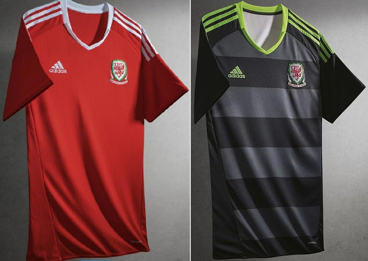 on sale 8bad0 45041 Wales Euro 16 Kits ~ Fifa Modders