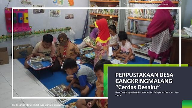 Geliat Perpustakaan Desa Demi Mencerdaskan Bangsa