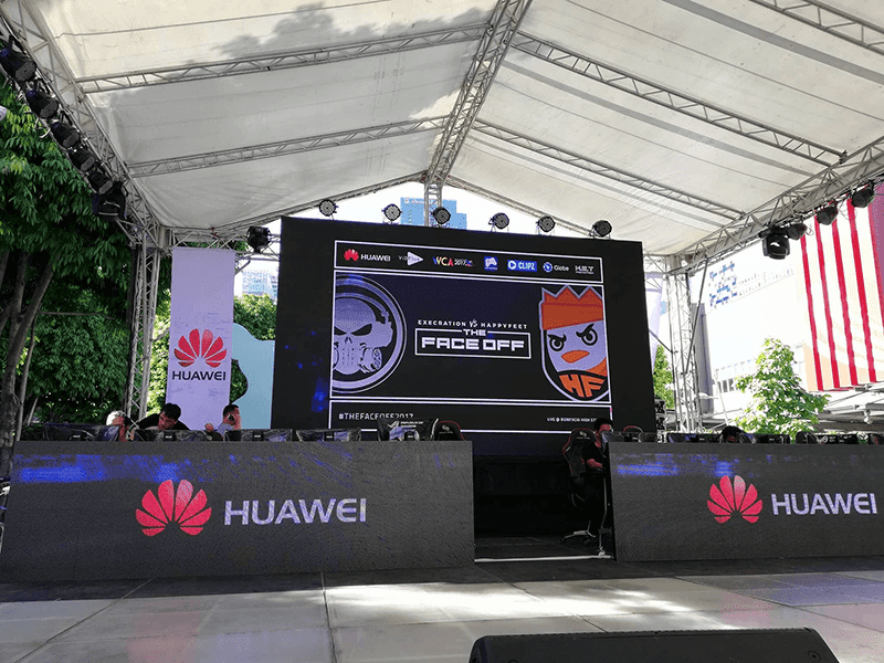The Face Off 2017 is the first joint venture by Huawei and WCA
