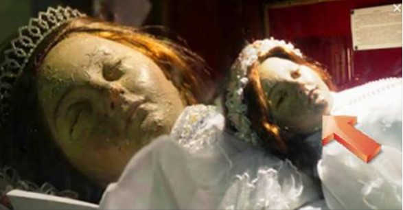Saint's Preserved Body Caught on Cam Blinking It's Eyes!