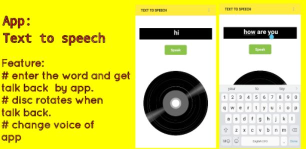 Text To Speech AIA File For Appybuilder and Thunkable