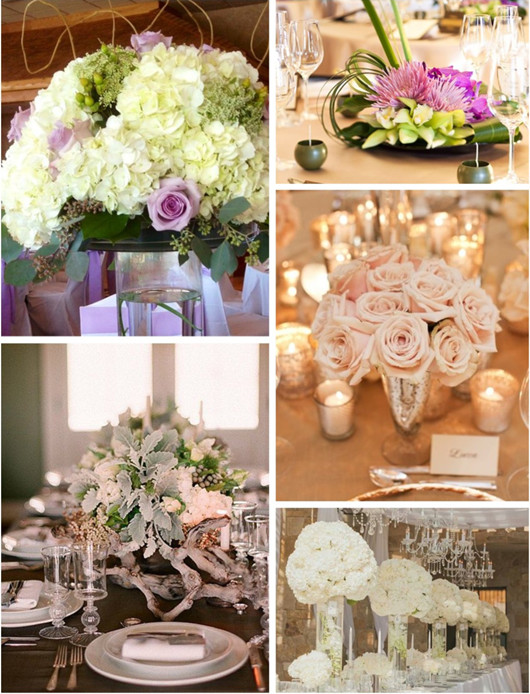 winter wedding flowers table flower ideas
