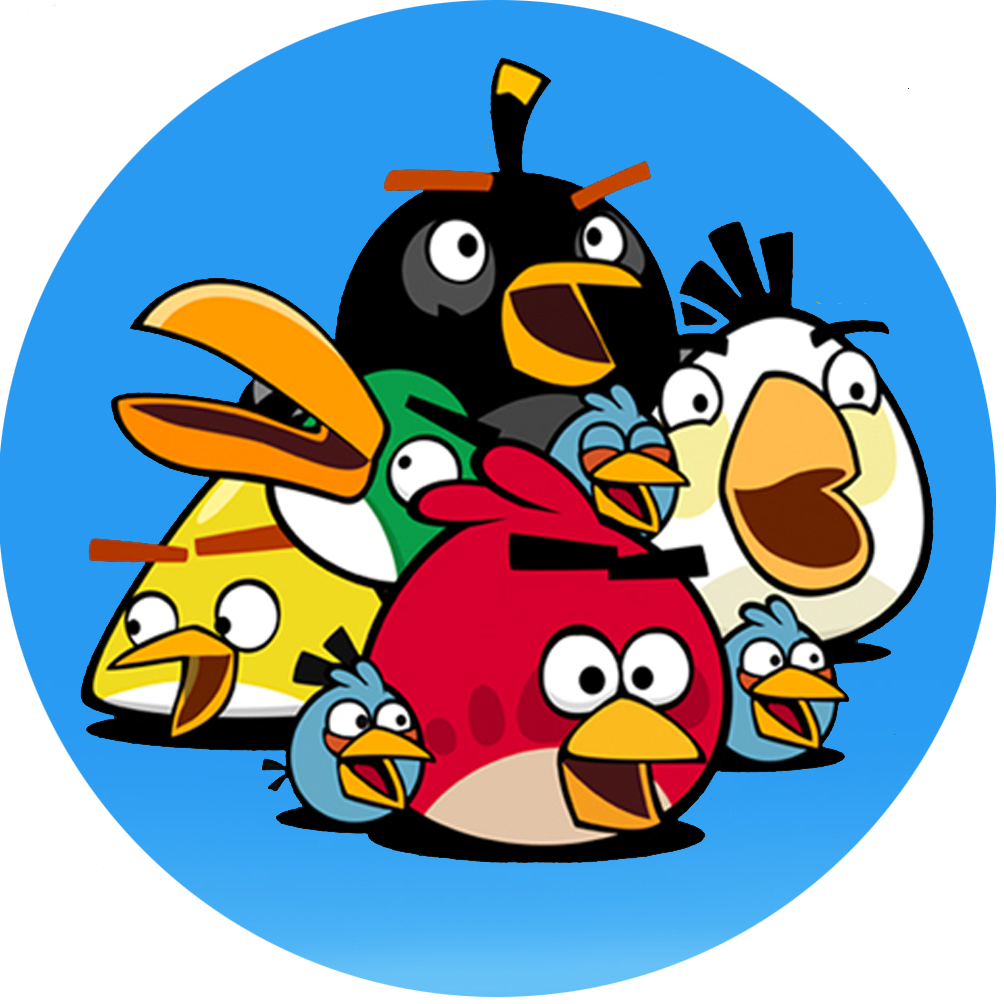 It's just a graphic of Dashing Angry Birds Printables