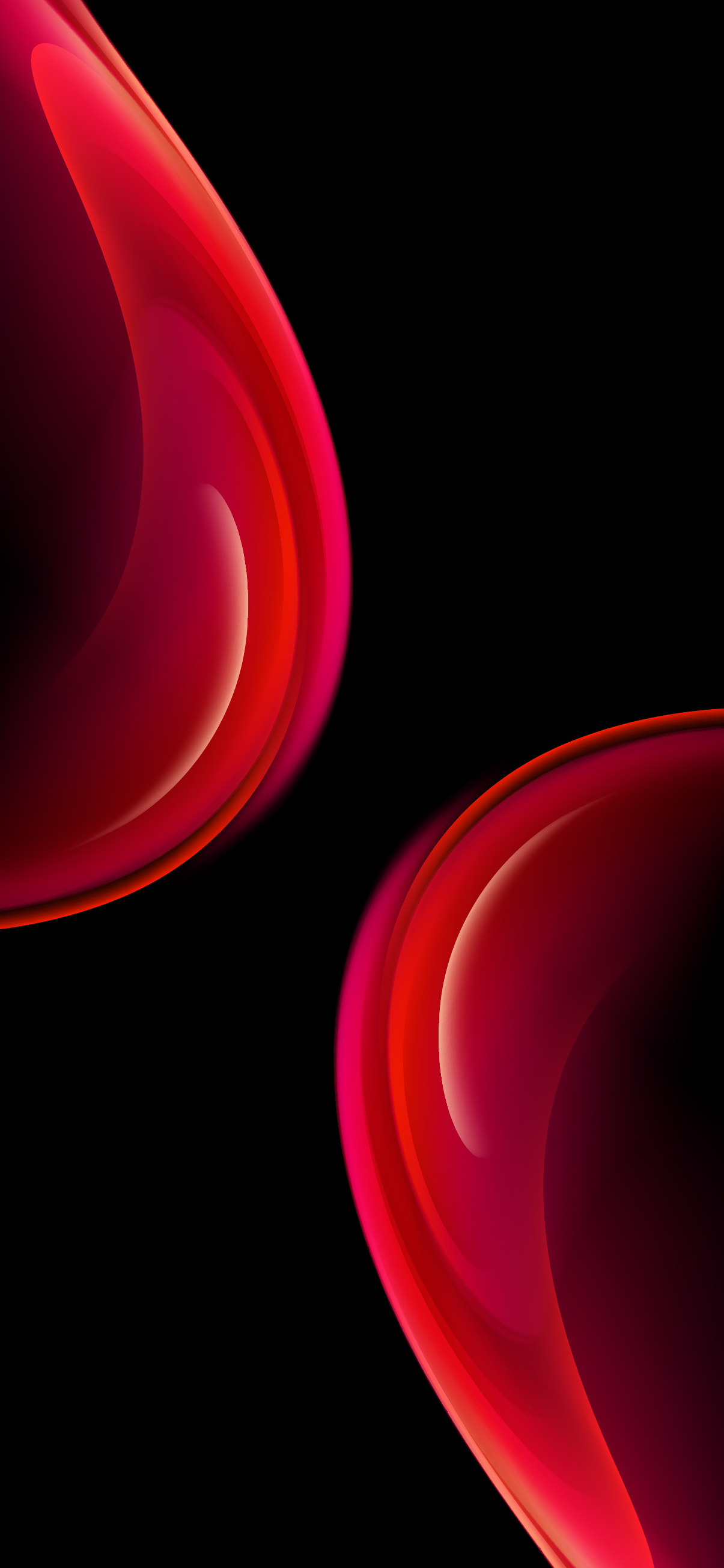 wallpaper iphone red oled hd 4k