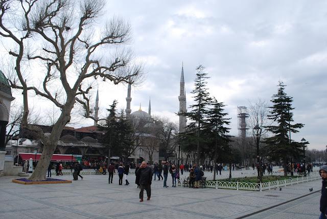 Голубая мечеть (Мечеть Султанахмет), Стамбул, Турция.