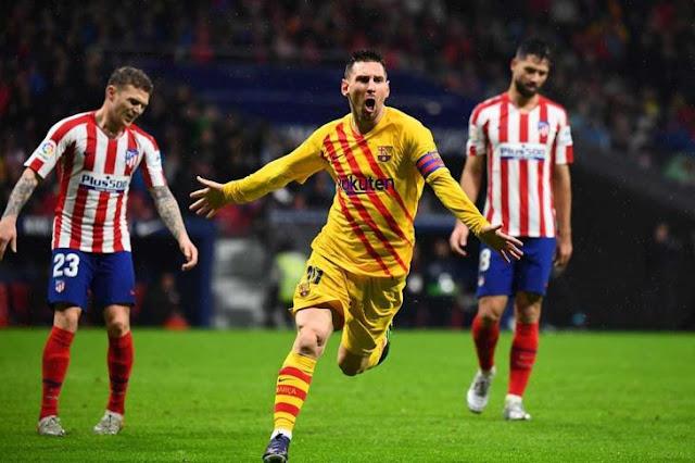 ليونيل ميسي يحصد لاعب الشهر في الدوري الاسباني