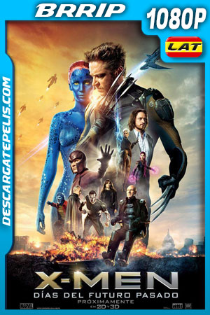 X-Men: Días del futuro pasado (2014) 1080p BRrip Latino – Ingles